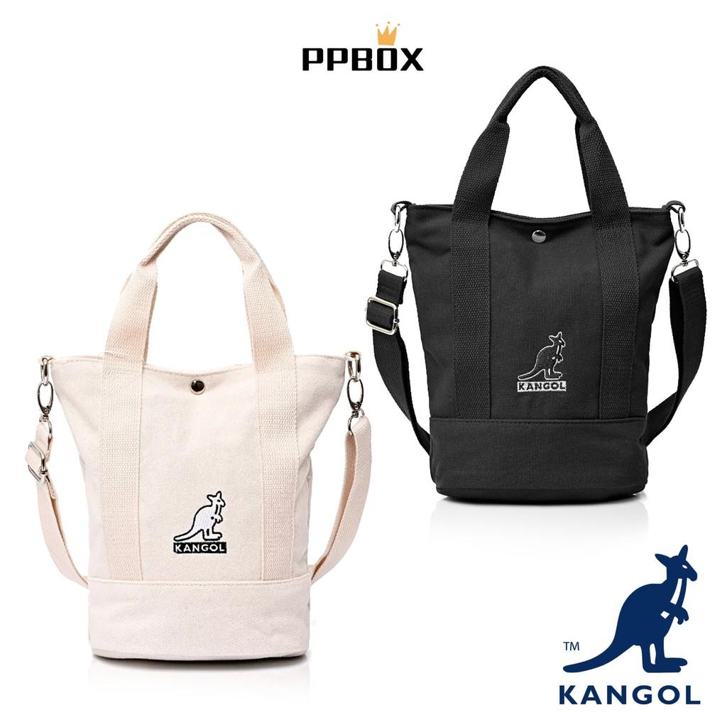 KANGOL 袋鼠 小方包 托特包 帆布包【69253008AA】