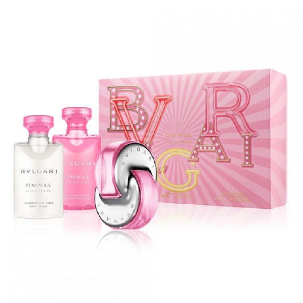 BVLGARI 粉晶女性淡香水禮盒
