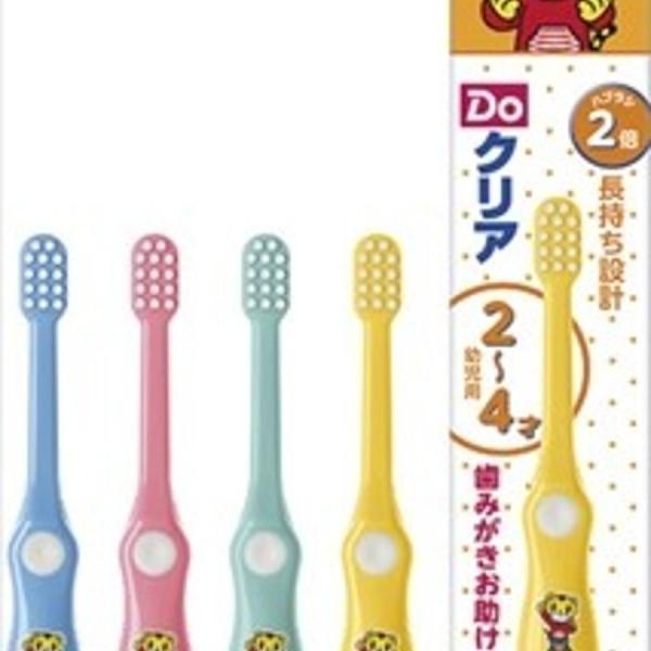 【日本製】【SUNSTAR】Do-Clear 兒童牙刷 2-4歲 柔軟(一組:6個) SD-1140 - 日本製 熱銷