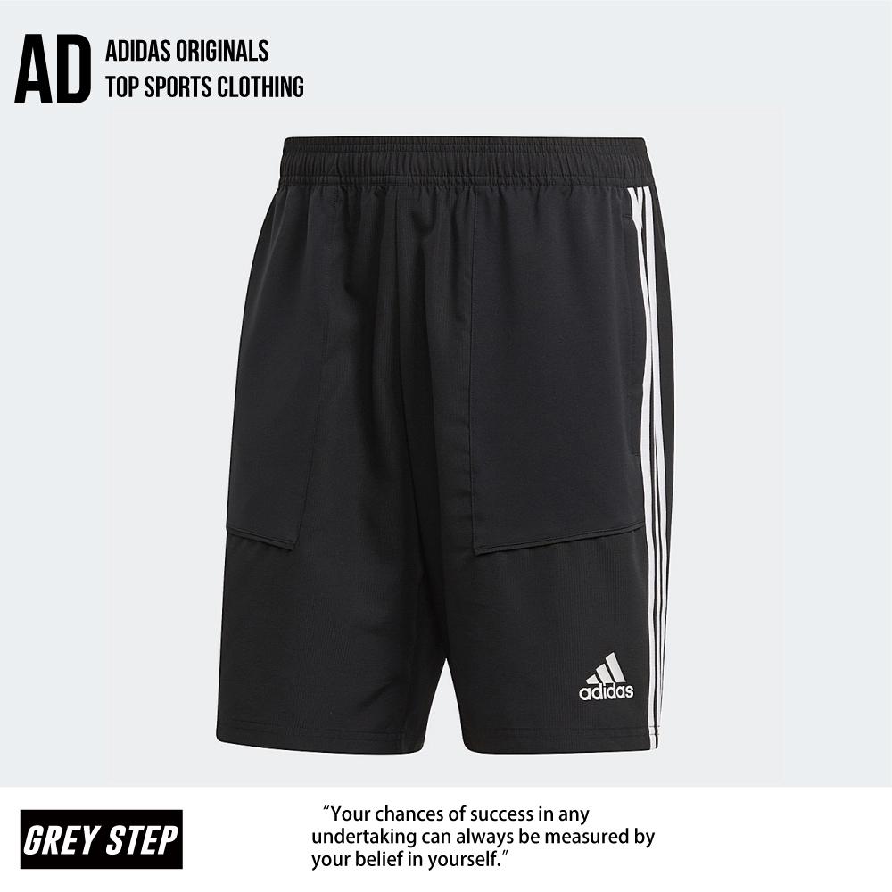 Adidas 愛迪達 運動 短褲 黑色 D95919 全新正品 統一發票 快速出貨