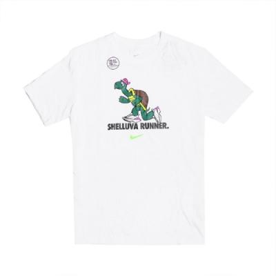 Nike T恤 Tortoise Running T 男款 Dri-FIT 吸濕排汗 快乾 烏龜 圓領 白彩 CZ9830100