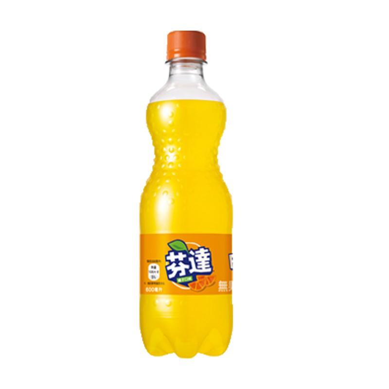 芬達 橘子汽水 600ml 【康鄰超市】