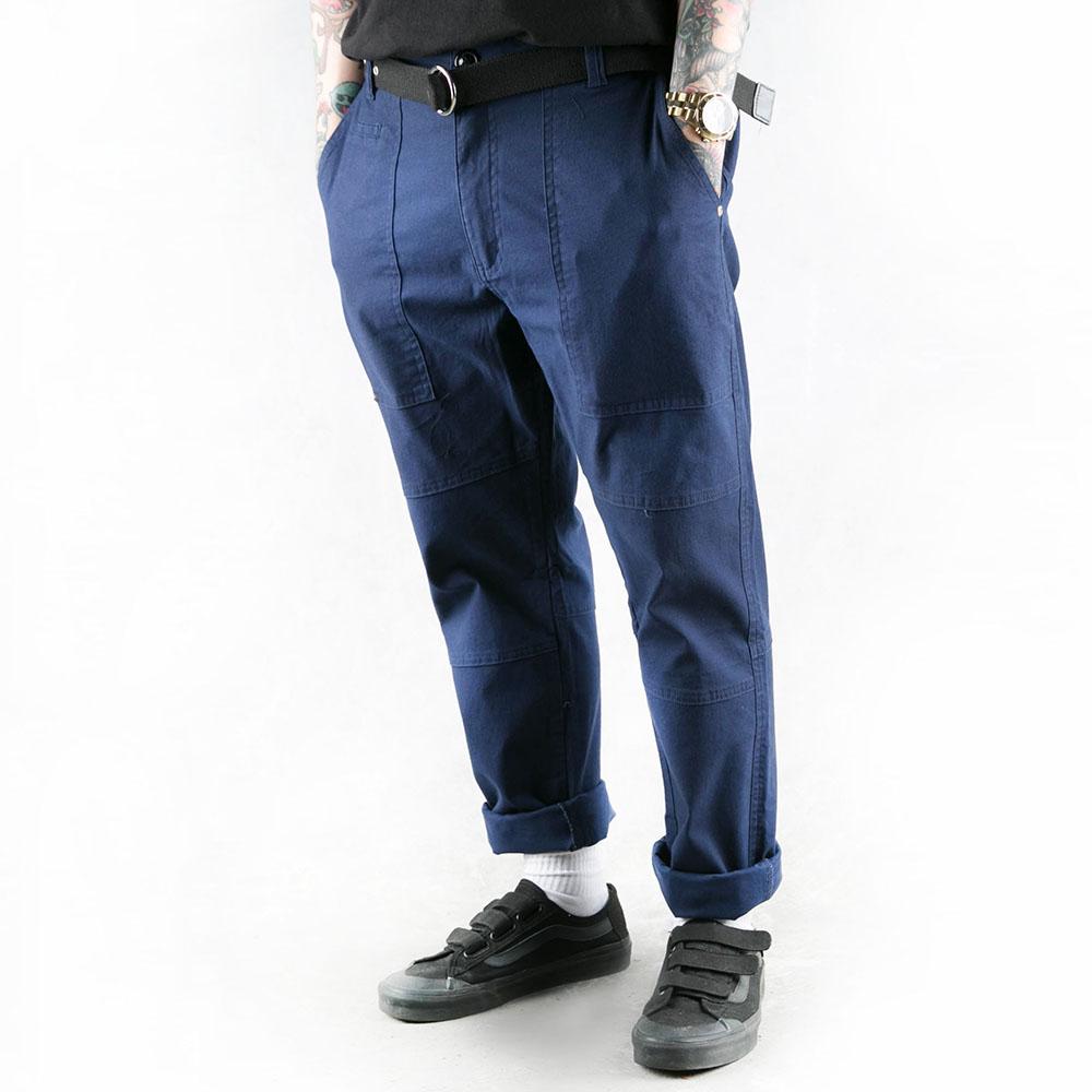 REPUTATION Work Pants / D - PANT.SS - 經典工作長褲 / 藍