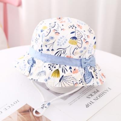 Baby童衣 女寶寶童帽 女童帽子 蝴蝶遮陽帽 88662
