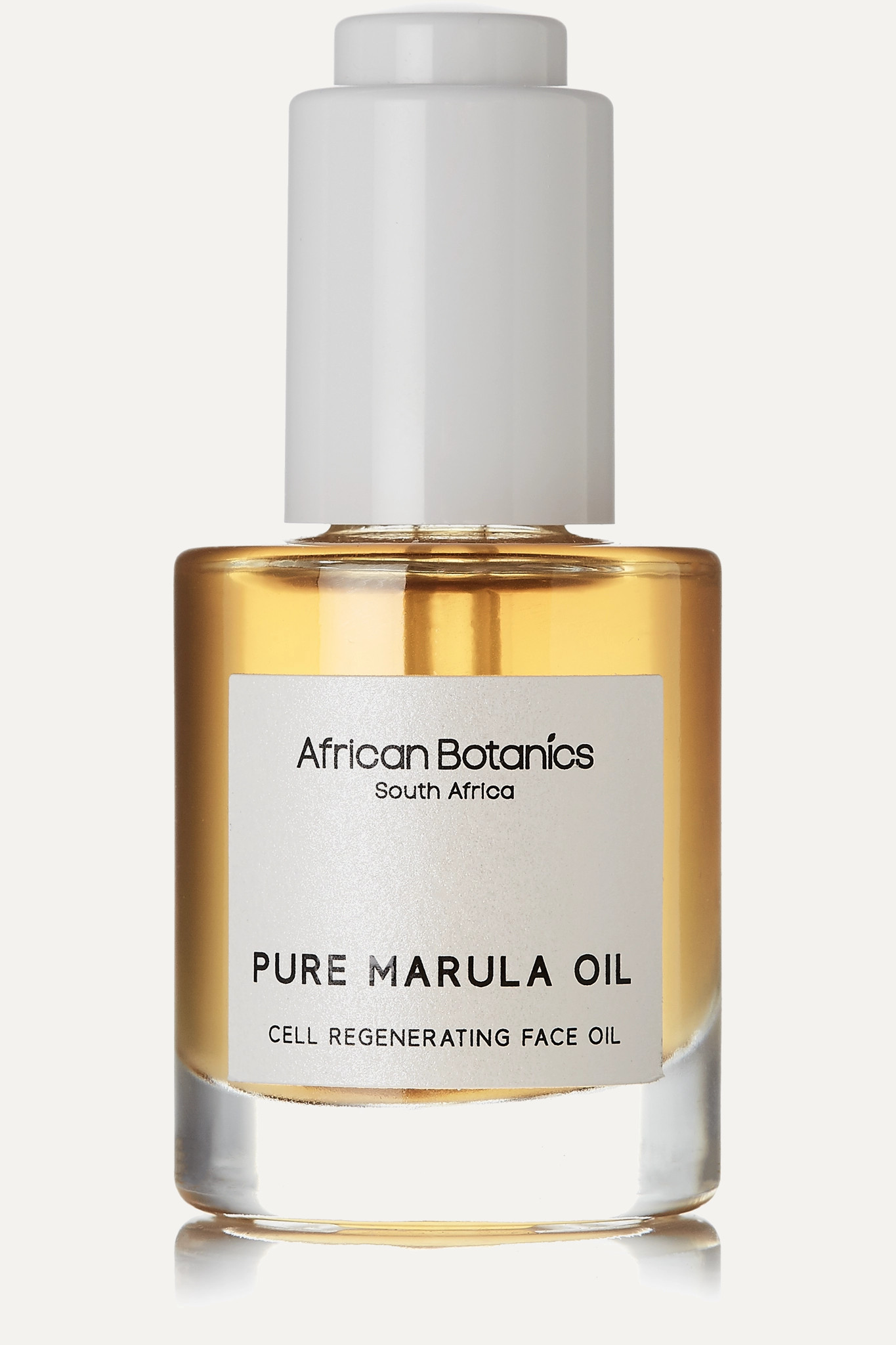 AFRICAN BOTANICS - + Net Sustain Pure Marula Oil - Cell Regenerating Face Oil, 30ml - one size