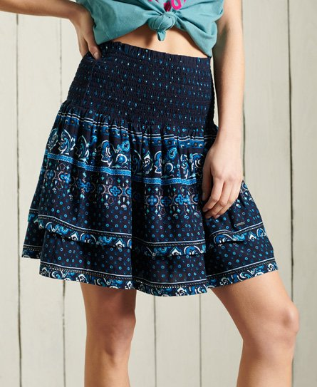 Superdry Ameera Mini Smocked Skirt