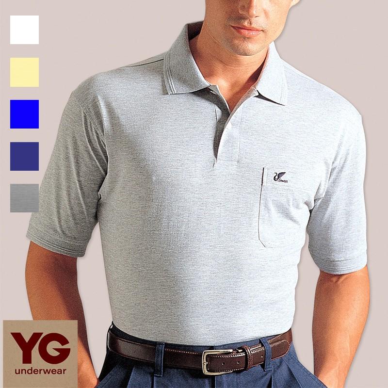 YG內衣-反領短袖衫