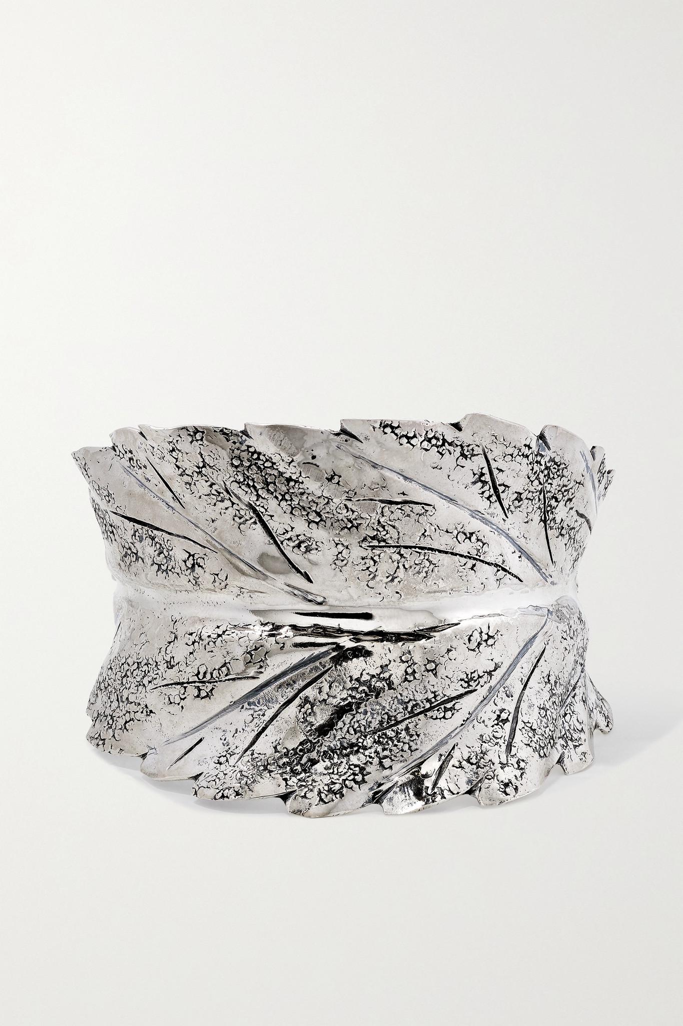 BUCCELLATI - Prestigi Sterling Silver Cuff - one size