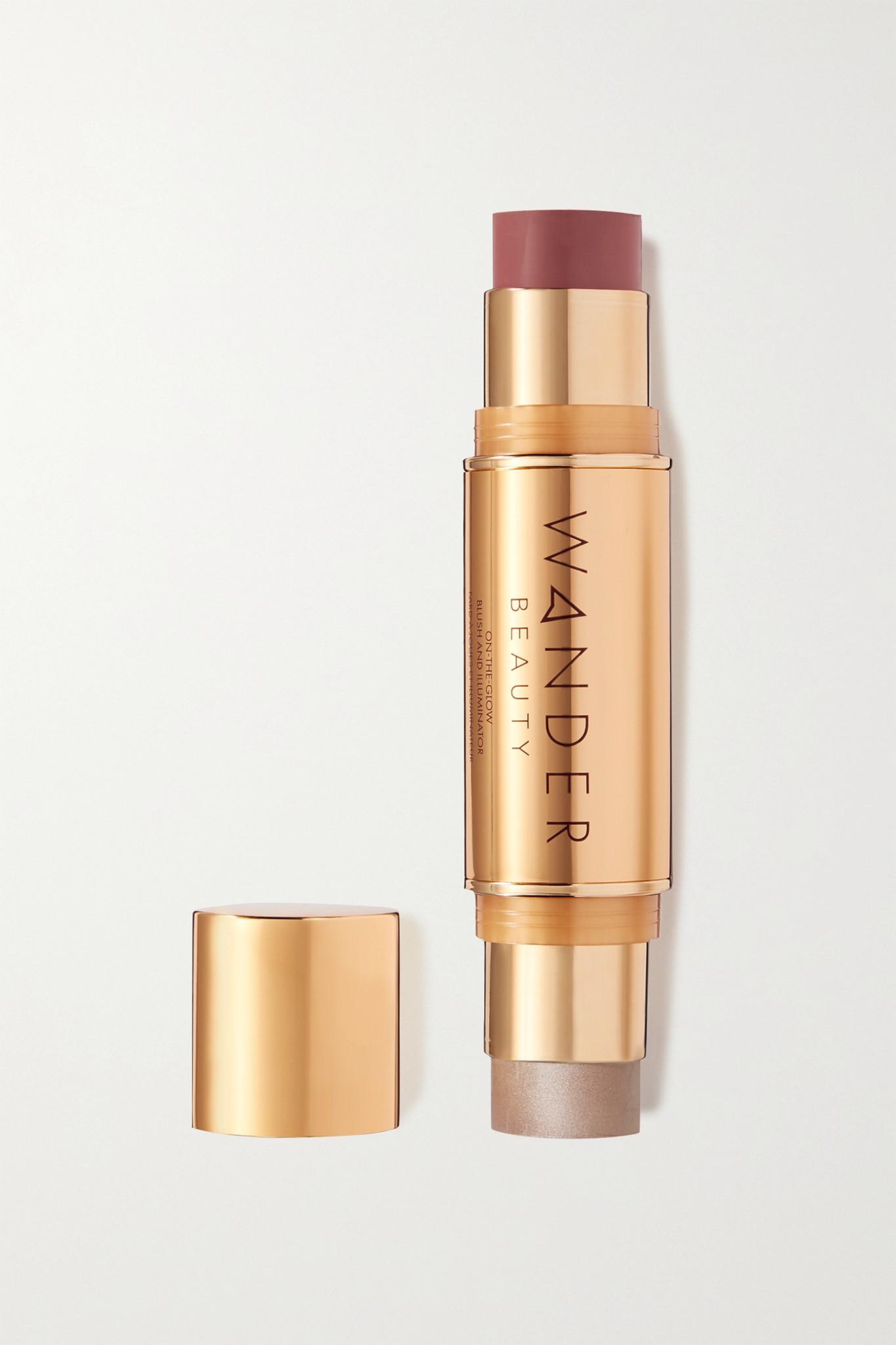 WANDER BEAUTY - On-the-glow Blush And Illuminator - Berry Whisper - Pink - one size