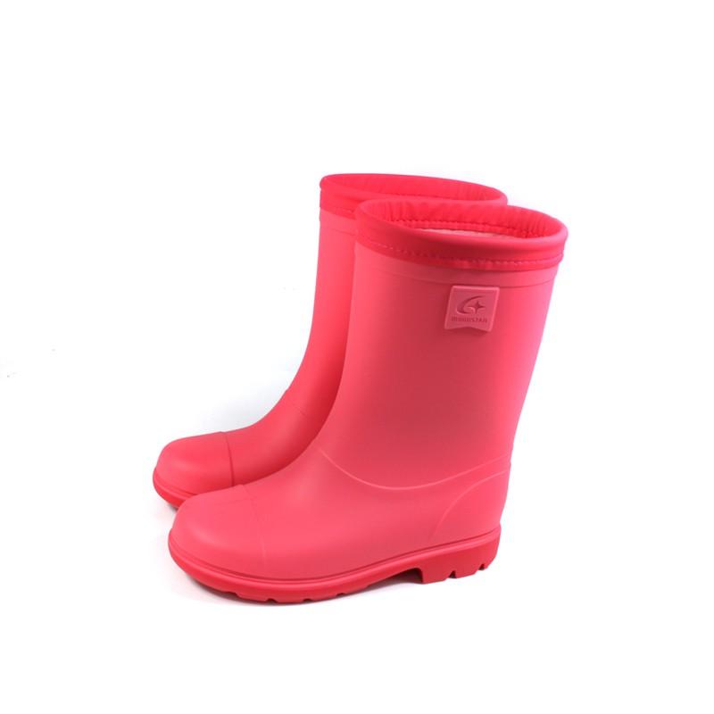 【不可超取】MoonStar 雨鞋 靴子 桃紅 中童 童鞋 MSRBC652 no427