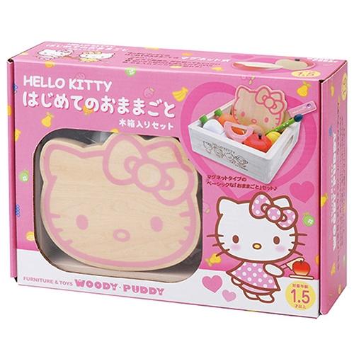 WOODY PUDDY_Hello Kitty蔬果切切