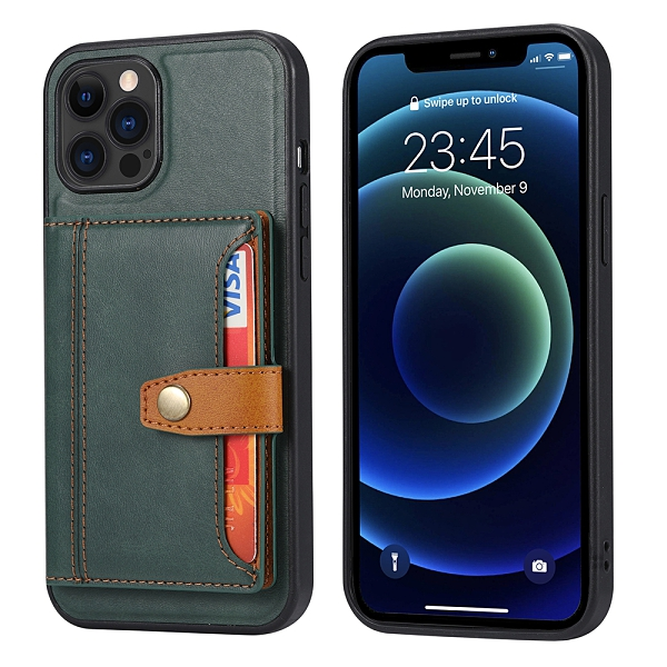 iPhone 12 Pro Max Mini 手機殼 多功能卡包皮殼 保護套 全包防摔 皮套 插卡零錢包 外套 手機套 i12