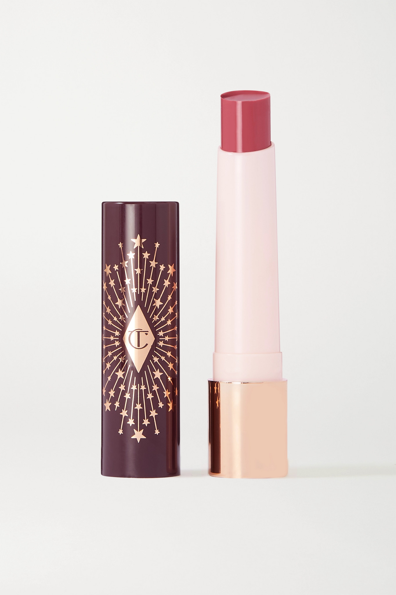 CHARLOTTE TILBURY - Hyaluronic Happikiss Lipstick Balm - Romance Kiss - Red - One size