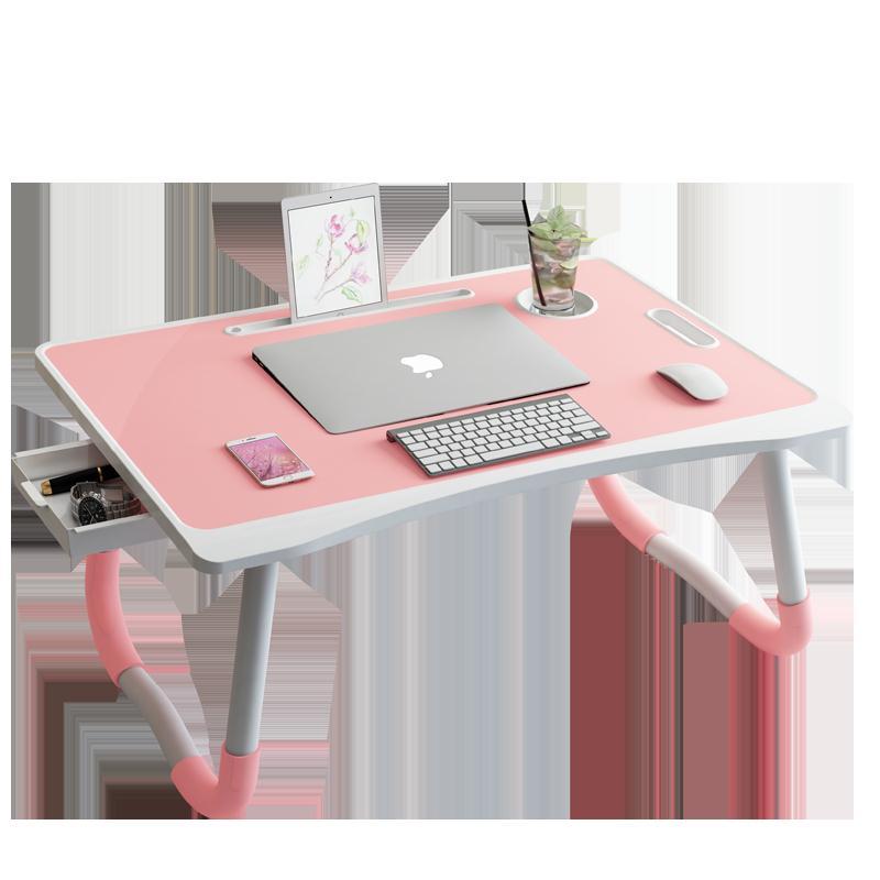 可折疊小桌子床上電腦桌大學生宿舍上鋪懶人家用寢室簡約學習書桌