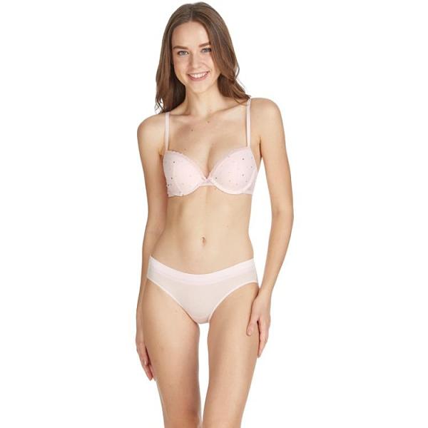 春夏新品簡約純色條紋棉質檔無痕低腰內褲女PT09890