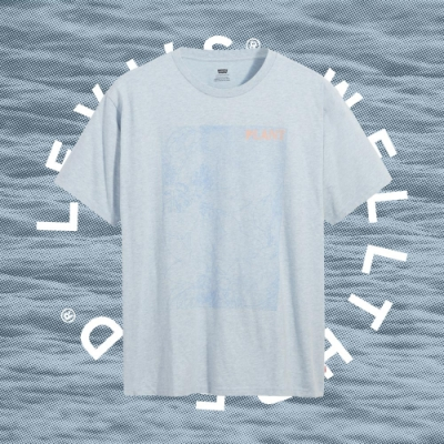Levis Wellthread環境友善系列 男款 短袖T恤 / 有機棉 / 天然染色工藝