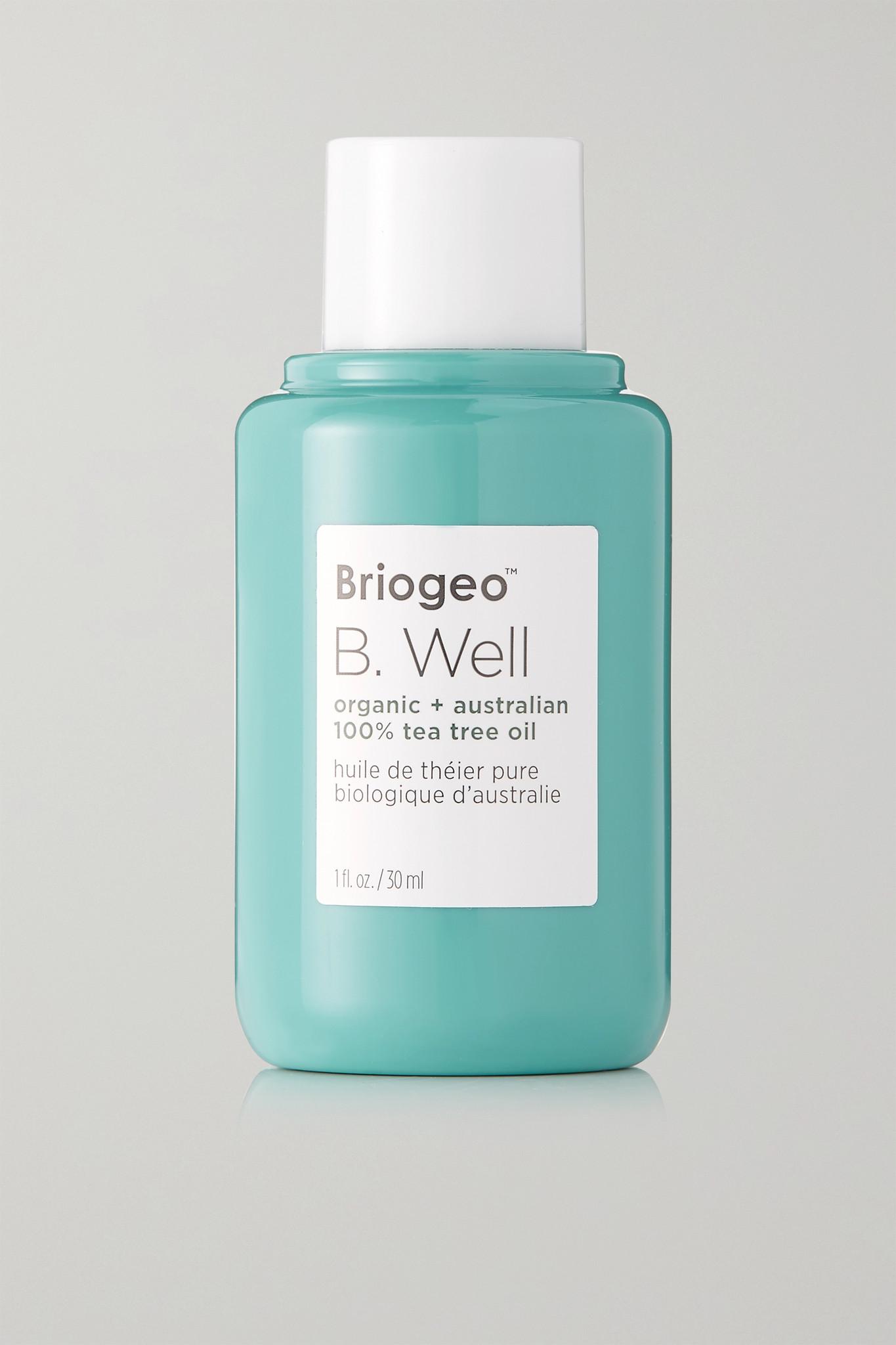 BRIOGEO - B. Well Organic + Australian 100% Tea Tree Oil, 30ml - one size