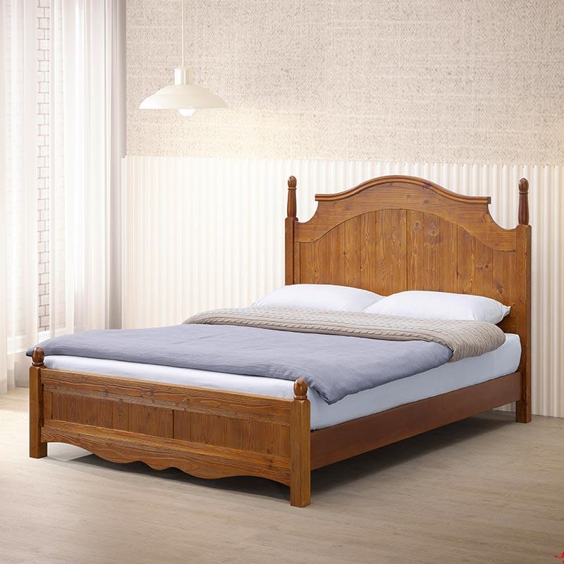 原森風化木全實木6x7尺床片台、加大雙人床架、床台、King size《滿19900再送MIT口罩50入》【myhome8居家無限】