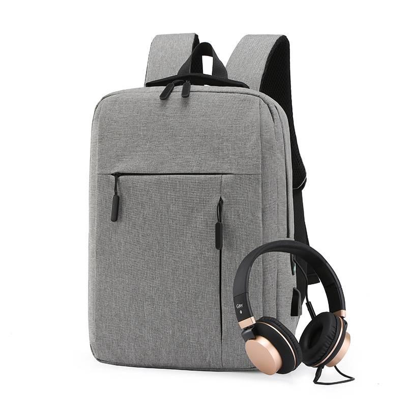【免運】男生商務公事包 創意USB充電背包 休閒商務男包 防水筆電雙肩包 書包