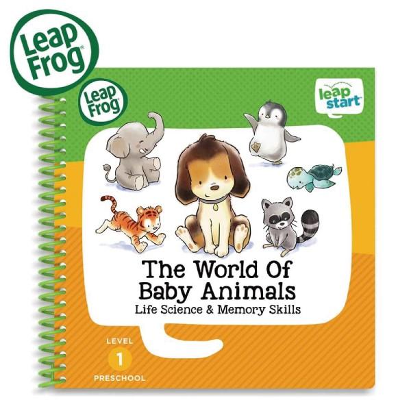 美國 LeapFrog 跳跳蛙 LeapStart 幼兒9-寶貝動物世界【麗兒采家】