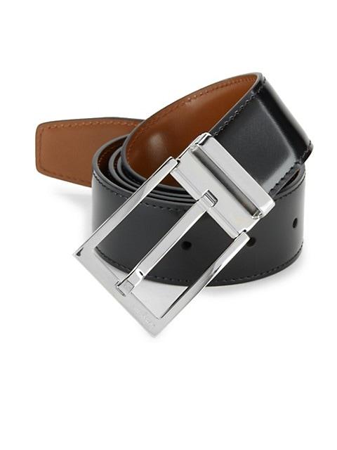 Adjustable & Reversible Classic Buckle Belt