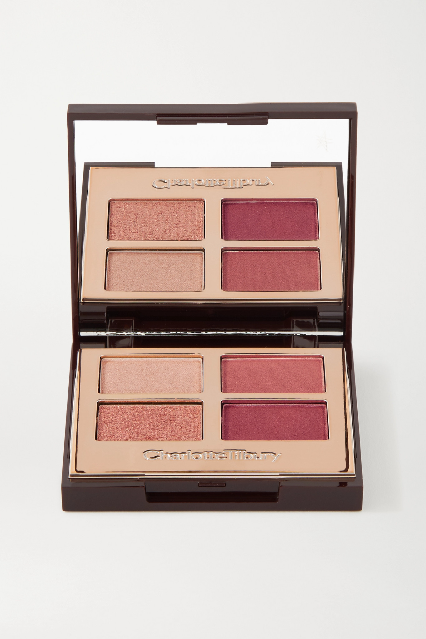 CHARLOTTE TILBURY - Luxury Palette Colour-coded Eye Shadows - Walk Of No Shame - Pink - one size