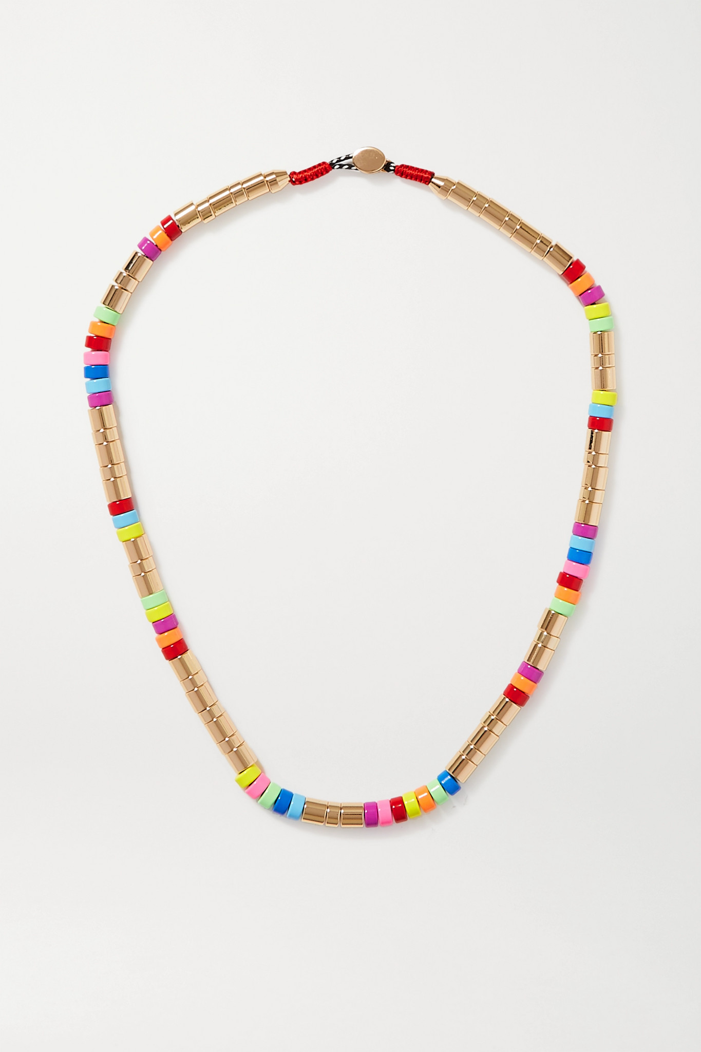 ROXANNE ASSOULIN - Enamel And Gold-tone Necklace - one size