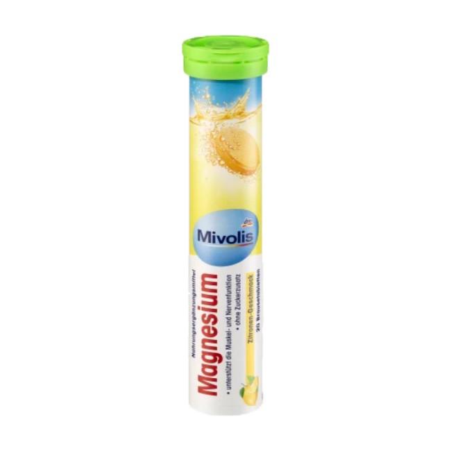 德國dm Mivolis礦物鎂發泡錠檸檬風味20錠入