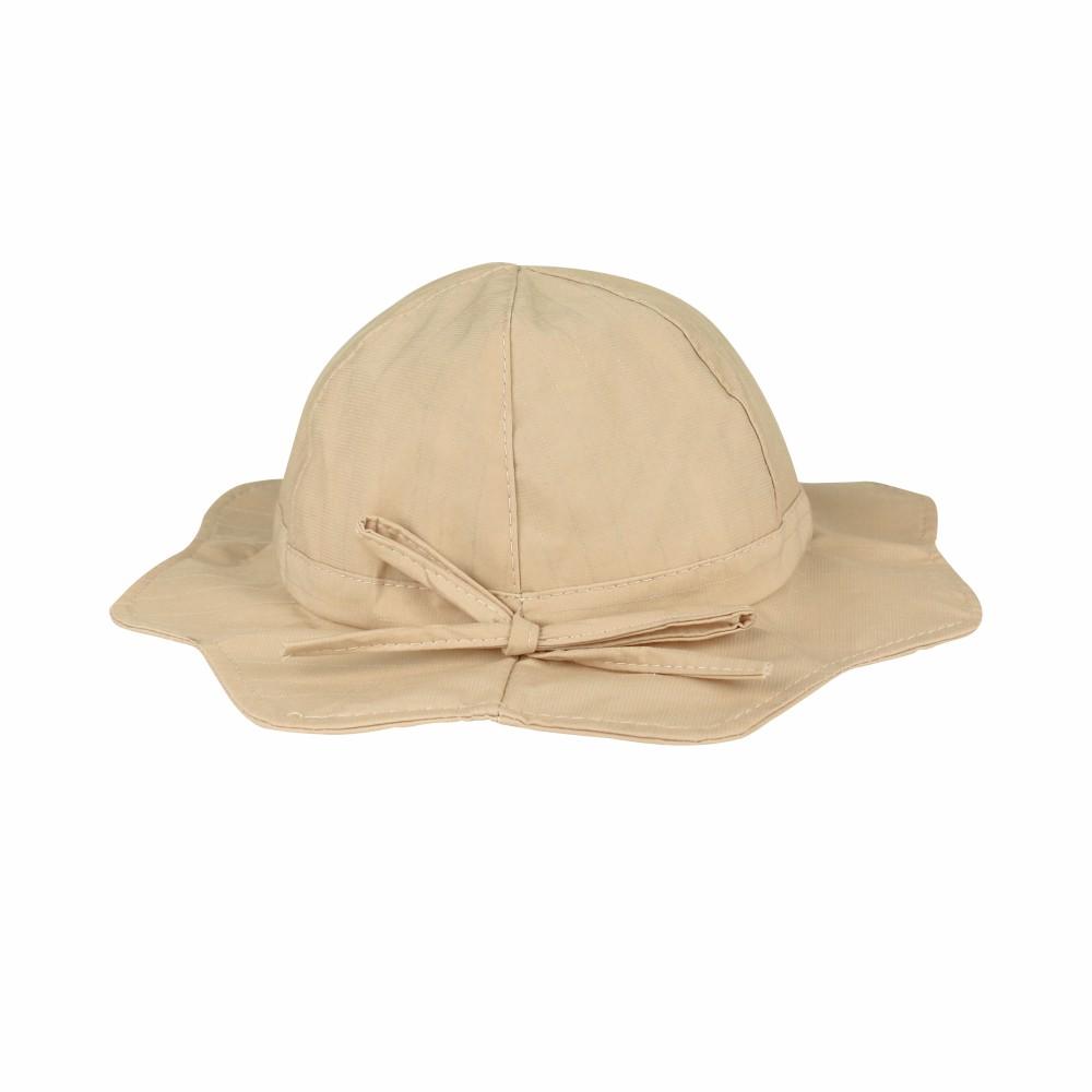 【不哭星球】黑/米 女童遮陽帽 (兩色) (P70125)