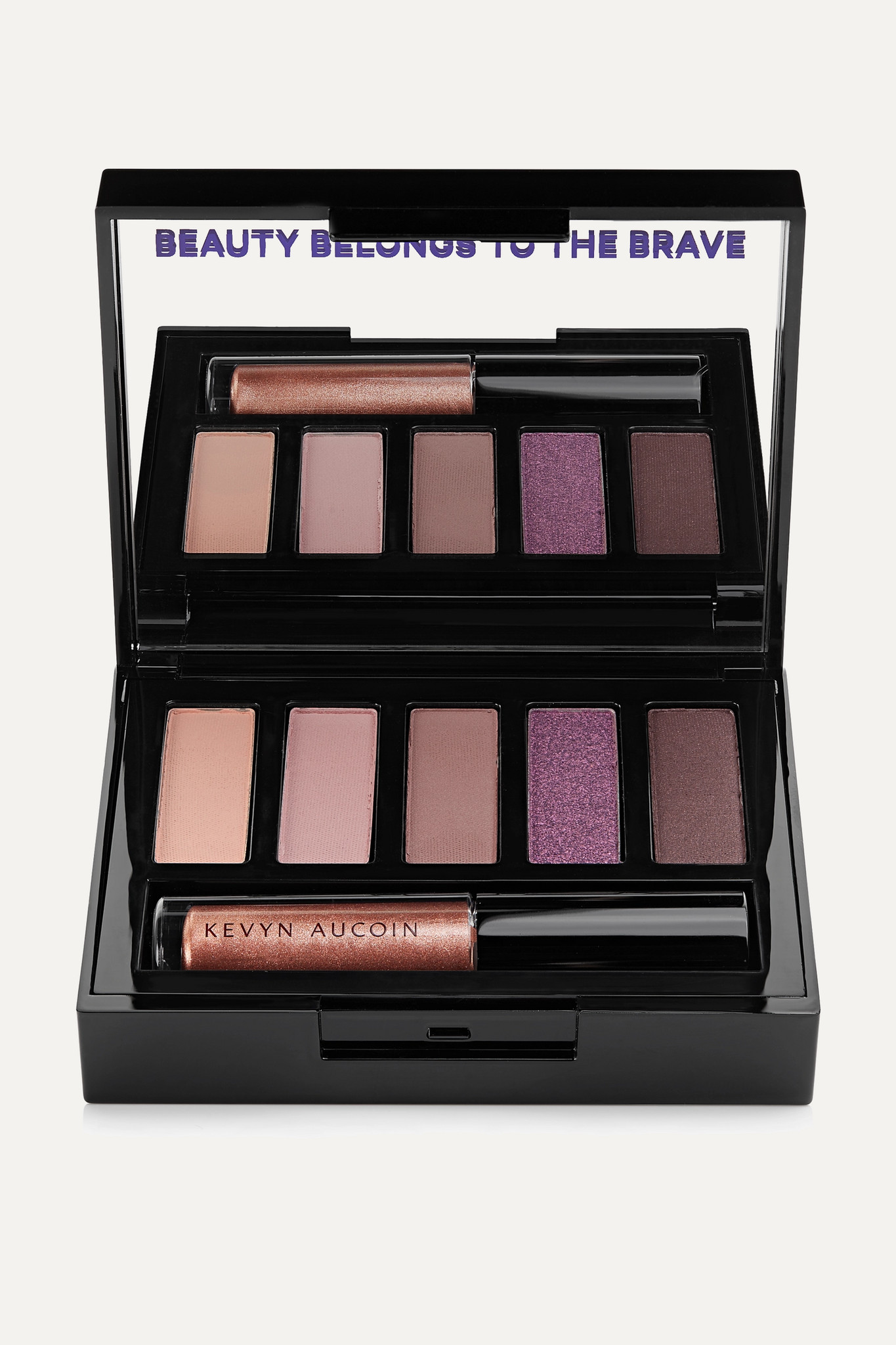 KEVYN AUCOIN - 魅力电眸眼影盘(色号:as Seen In) - 粉红色 - one size