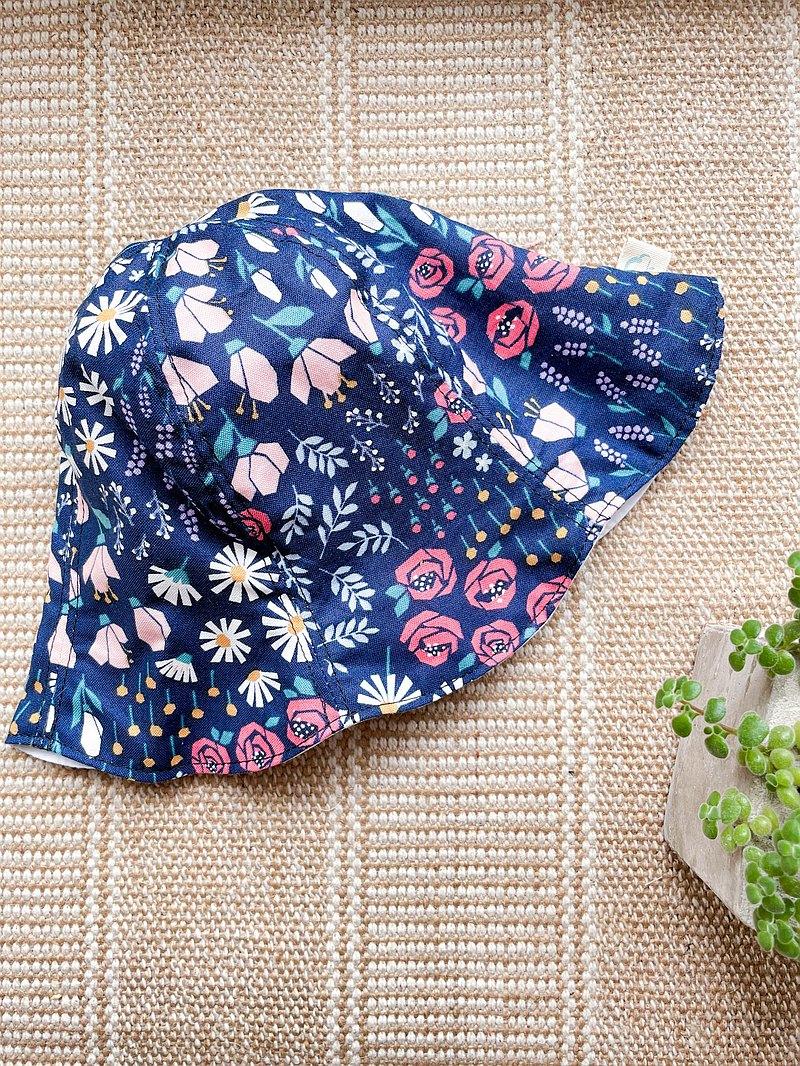 繽紛花園 手作寶寶漁夫帽 嬰兒帽 三種尺寸