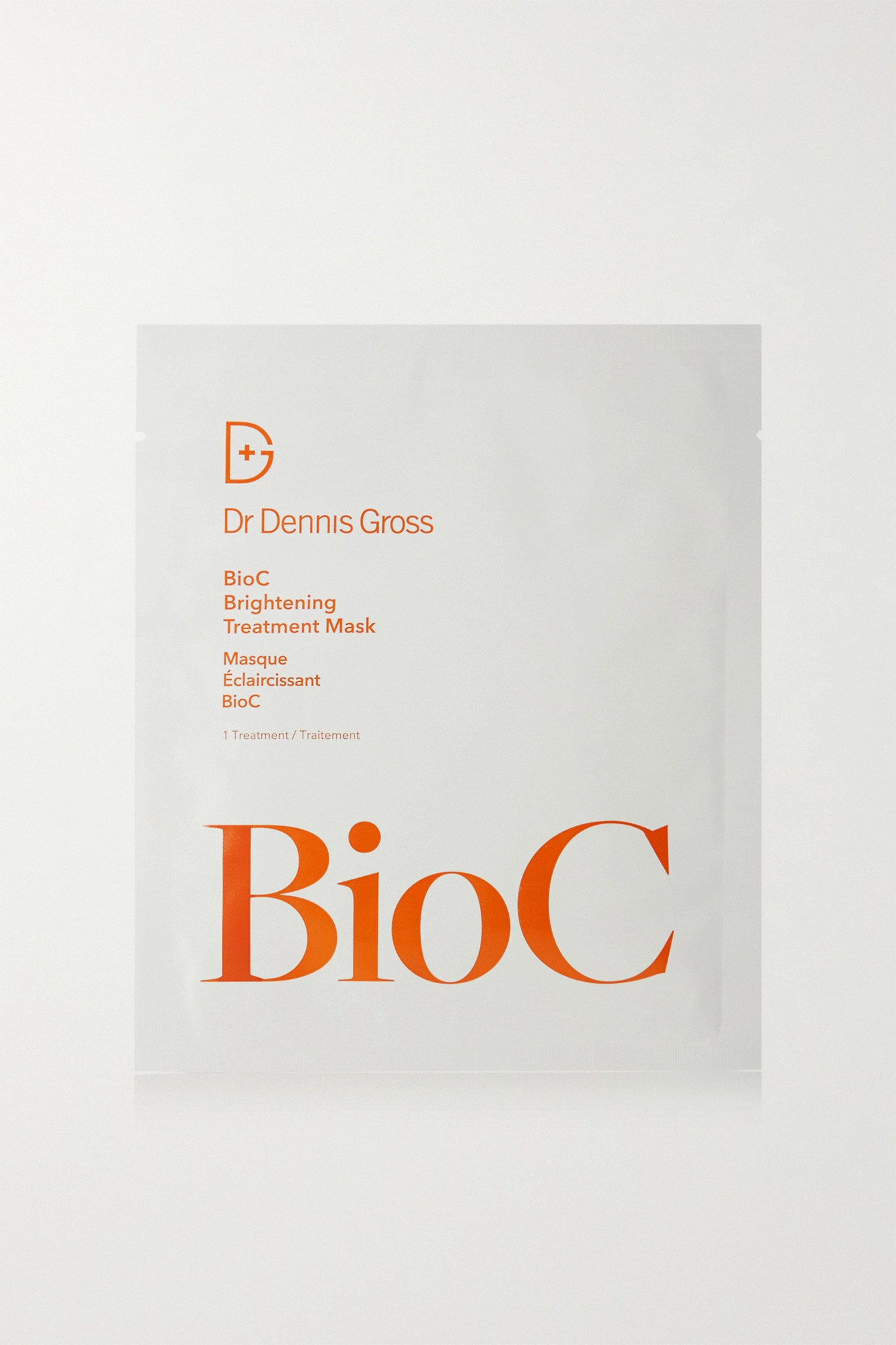DR. DENNIS GROSS SKINCARE - Bioc Brightening Treatment Mask X 8 - one size