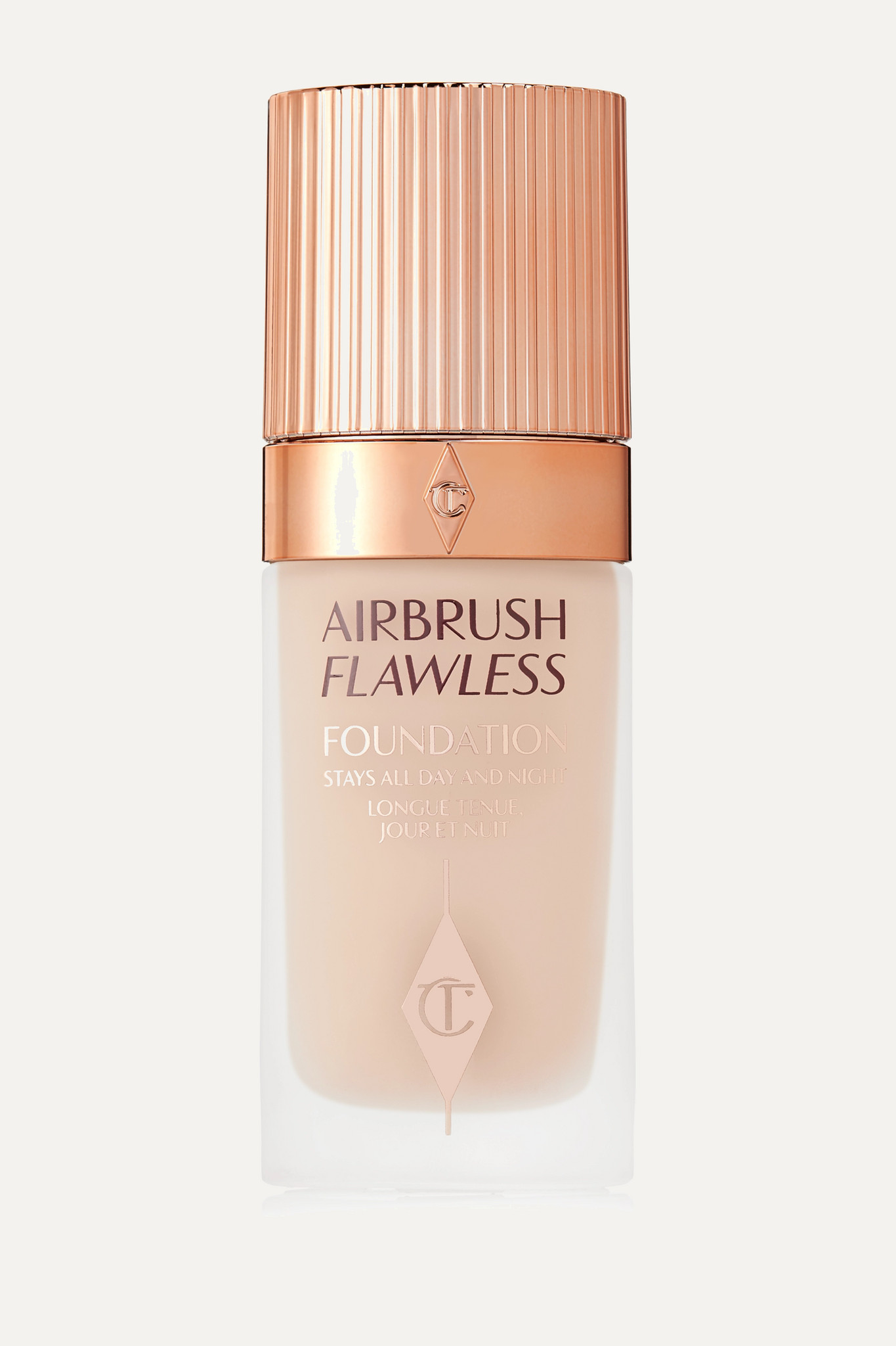 CHARLOTTE TILBURY - Airbrush Flawless Foundation - 3 Warm/chaud, 30ml - Neutrals - one size