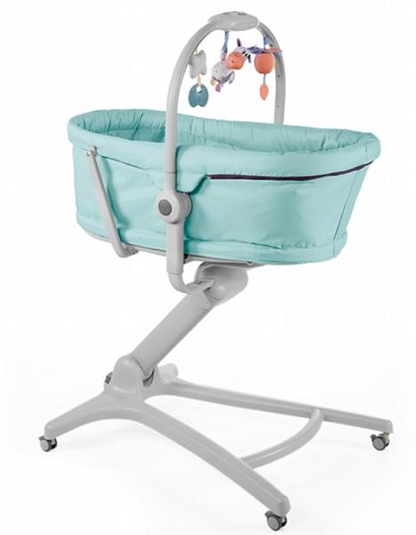 Chicco Baby Hug Baby Hug 4合1安撫餐椅嬰兒床(送蚊帳/透氣墊)【六甲媽咪】