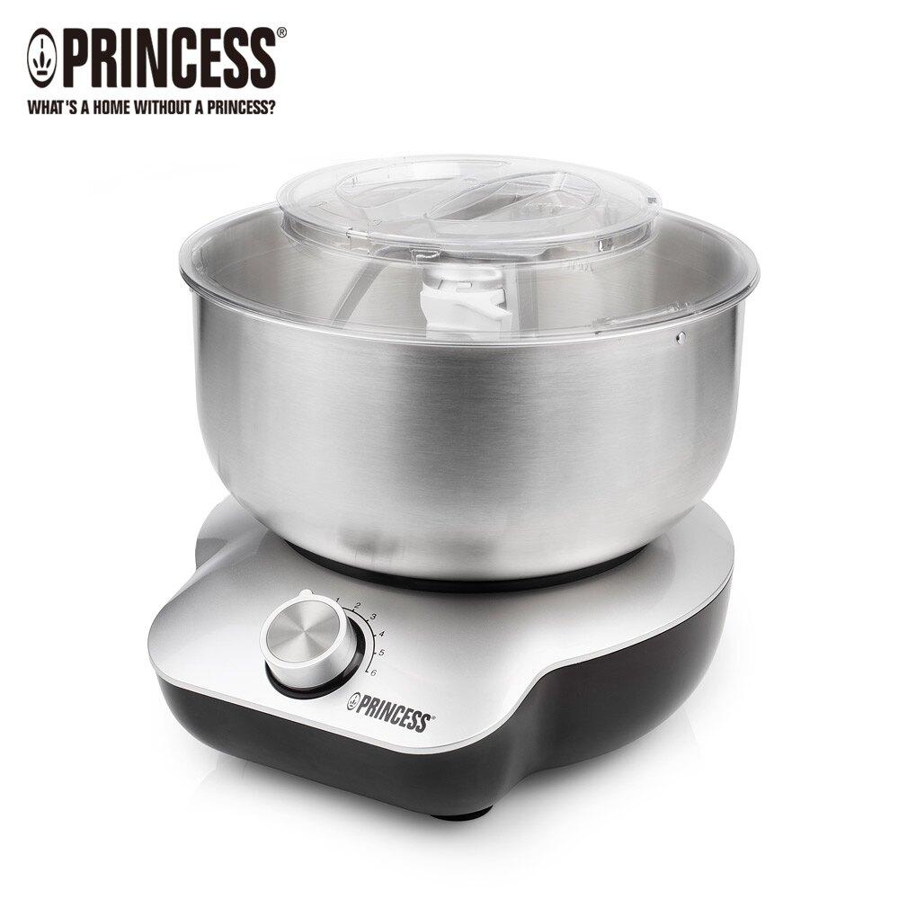 【PRINCESS】荷蘭公主 4L不鏽鋼全能攪拌機 220129