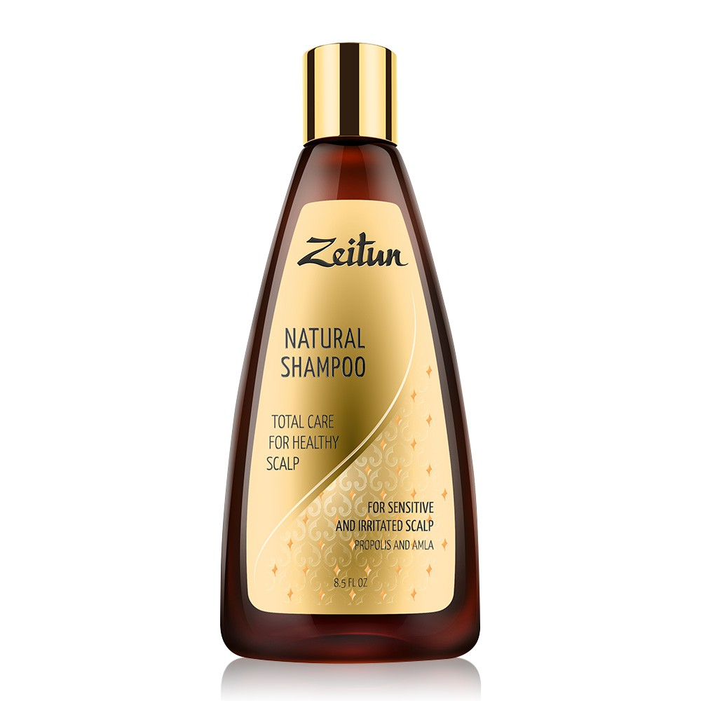 俄羅斯Zeitun莎杜草本植萃頭皮調理洗髮露250ml [頭皮健康的完美SPA]