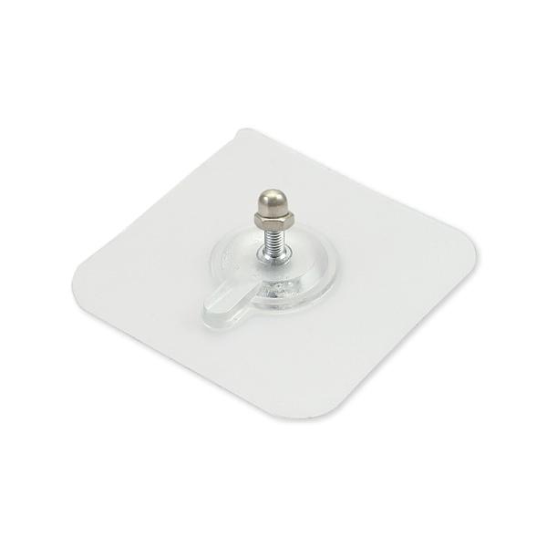 方形強力透明螺絲貼 螺絲貼片 螺絲貼掛勾 免打孔螺絲貼紙 免釘螺絲貼 強力螺絲貼