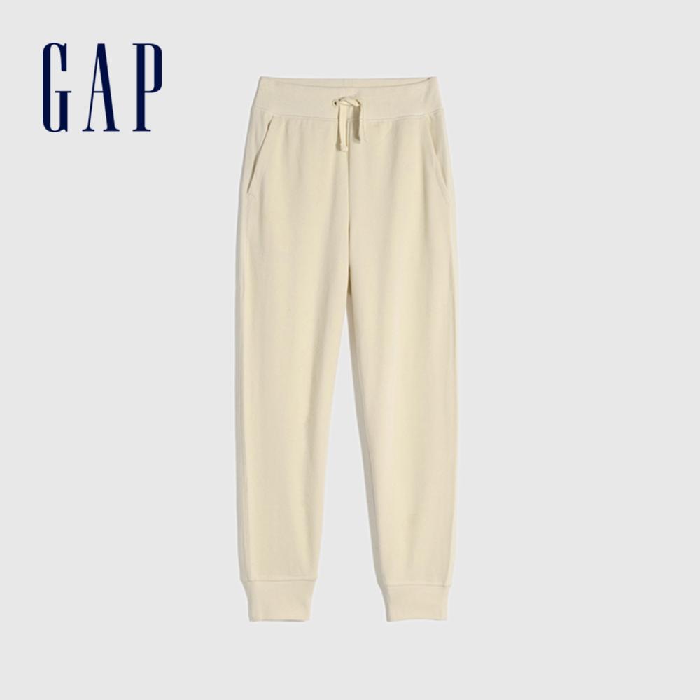 Gap 男童 舒適基本款鬆緊休閒褲 910620-米色