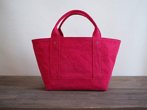定做的[ARMY DUCK]手提袋M紅色(帶蓋)