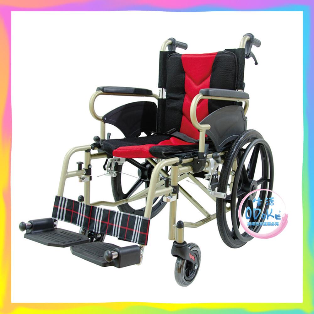 必翔銀髮 輕便移位型手動輪椅 ph-164-1 (未滅菌) 輪椅 生活odoke