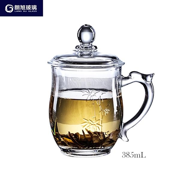 朗旭玻璃 古典茶飲杯 385ml 果汁杯 玻璃杯 酒杯 飲料杯 泡茶杯