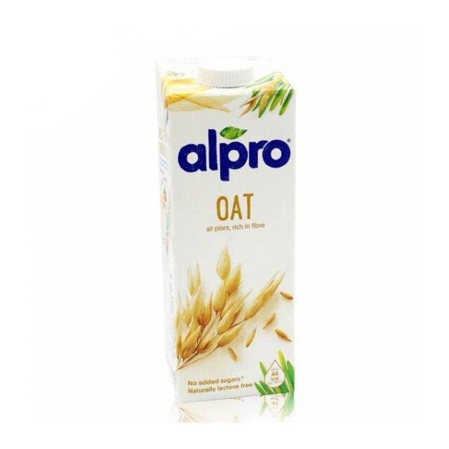 比利時 ALPRO 原味燕麥奶1L(全素)(8瓶箱購)