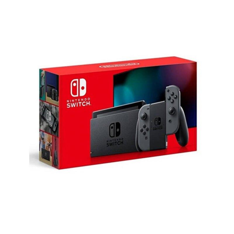 Nintendo 任天堂 Switch 灰色 Joy-Con 灰黑主機 (電池加強版) /台