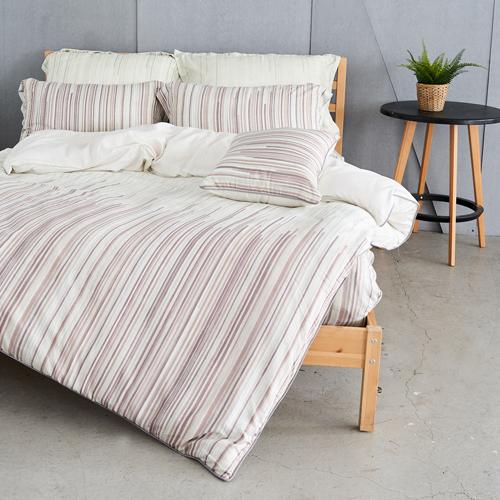 《奧斯汀品牌頂級天絲》諾里絲-兩用被床包四件組