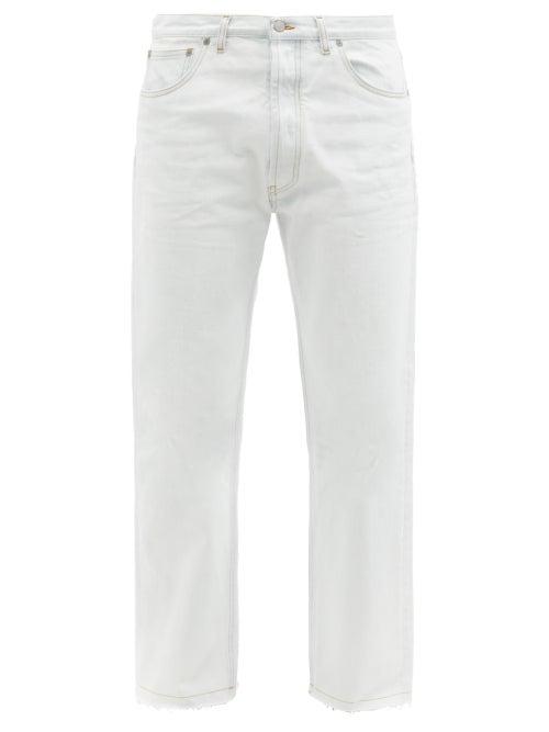Maison Margiela - Light-wash Straight-leg Jeans - Mens - Indigo