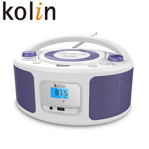 Kolin歌林 手提CD/MP3/USB音響KCD-WDC31U【愛買】