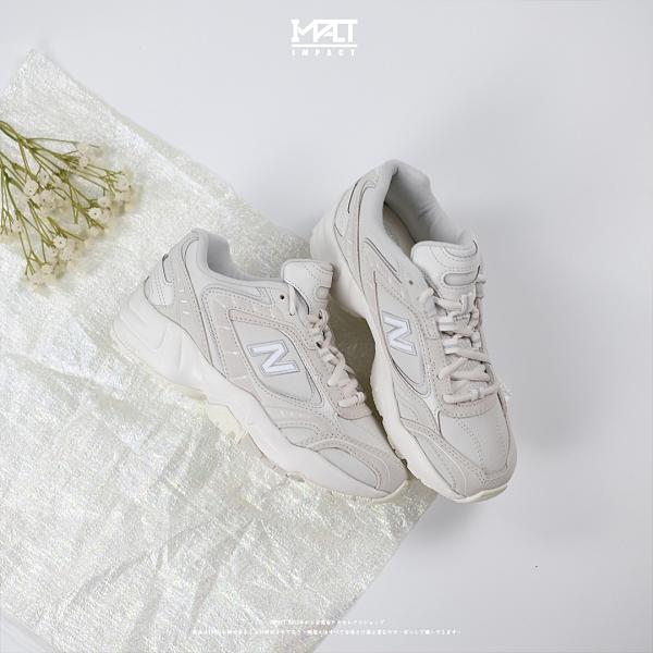 IMPACT New Balance 452 NB452 白灰 奶茶 米灰 復古 增高 韓國 老爹鞋 WX452KO1