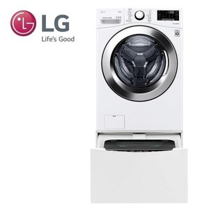 LG 雙能洗洗衣機WD-S18VCW(蒸洗脫)+WT-D250HW