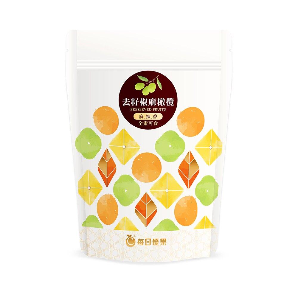 去籽椒麻橄欖250G【每日優果】