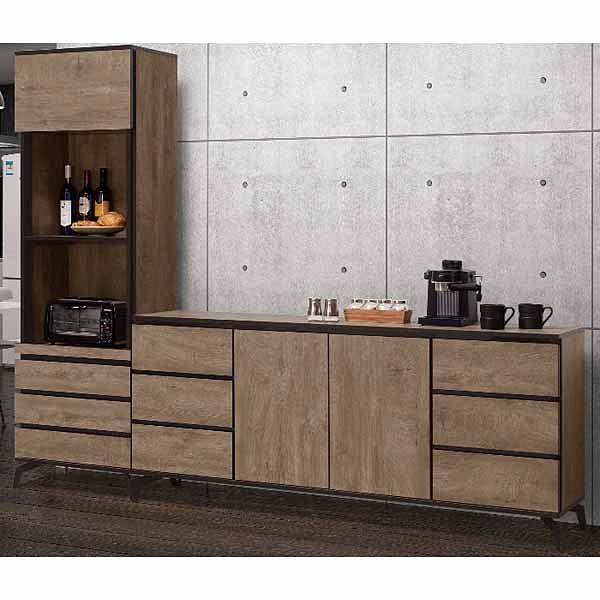 櫥櫃 餐櫃 QW-616-2 奧利佛8尺餐櫃【大眾家居舘】